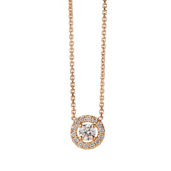 Колие с диаманти AURORA