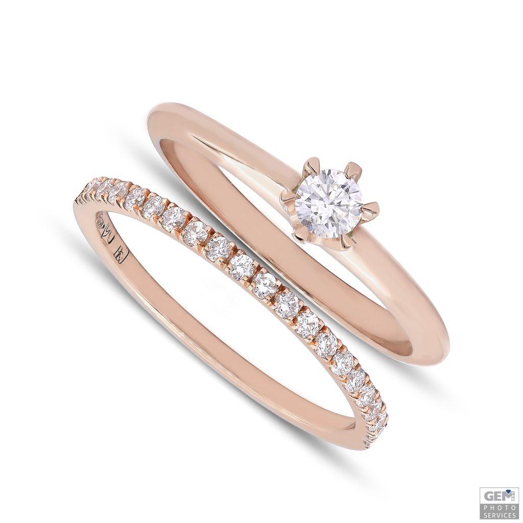 Класически годежен пръстен